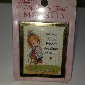Paula's moments in time refrigerator magnet